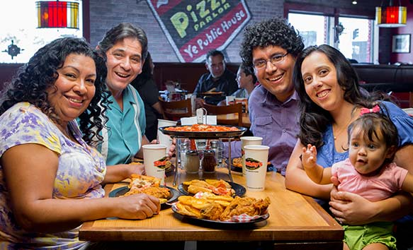 L.A. Cesar Chavez Group Events Rentals Pizza Place Shakey's