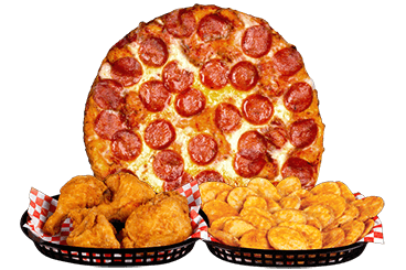 Pizza, Chicken & Mojo<sup>®</sup>s