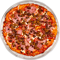 ultimate meat pizza | Delivery Restaurant L.A. Cesar Chavez