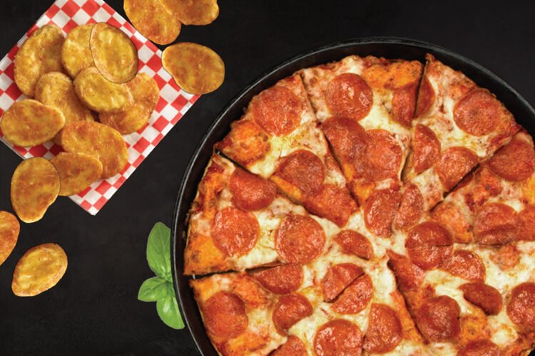 Shakeys Pizza + Mojos for Two $16.99