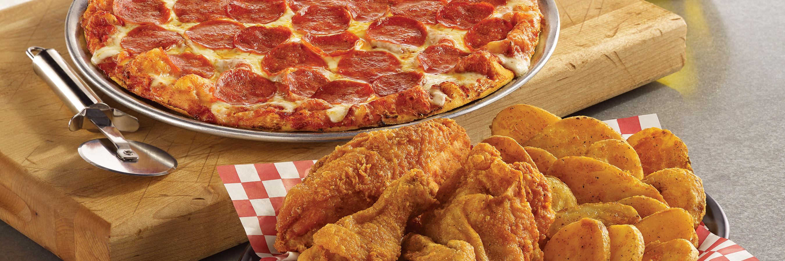 Shakey's Hero Image - Carry-out & Delivery