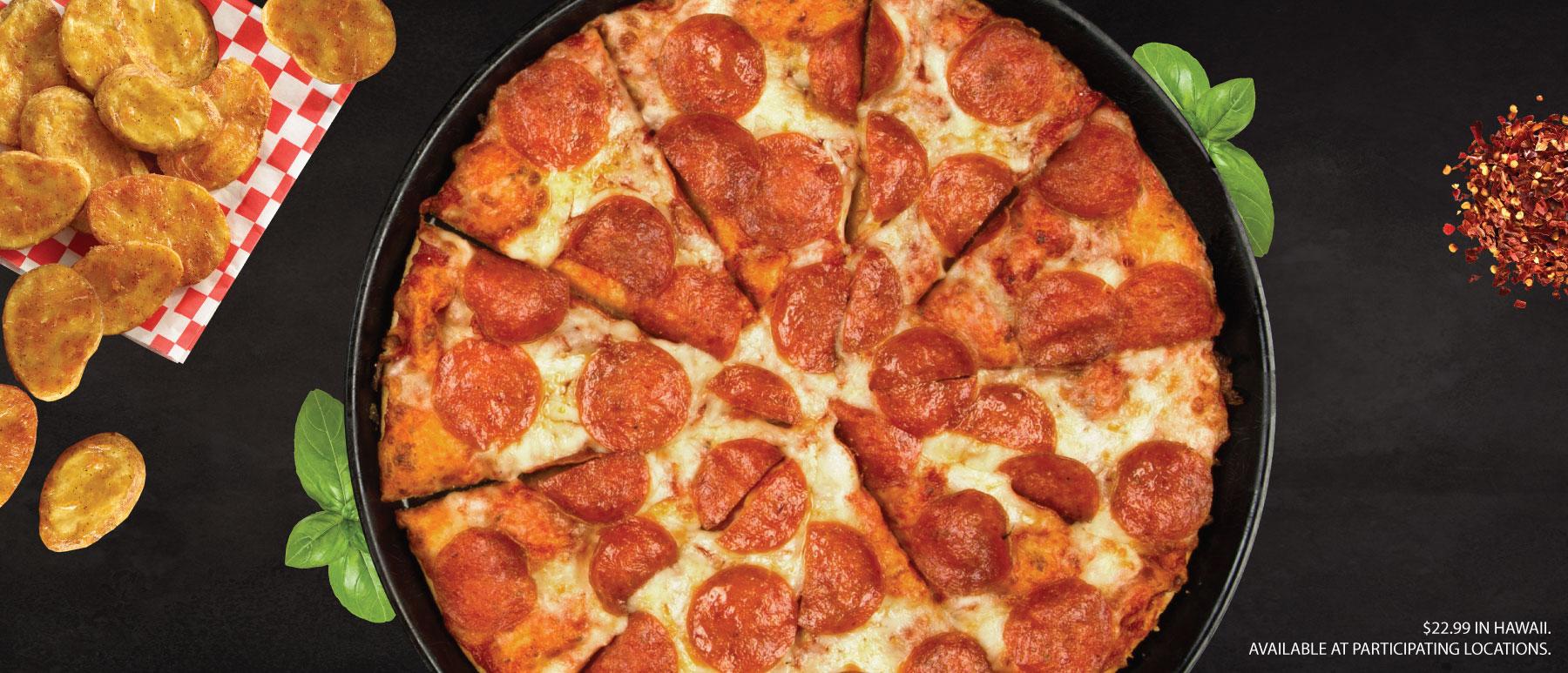 Shakey's Hero Image - Pizza + Mojo®s $19.99