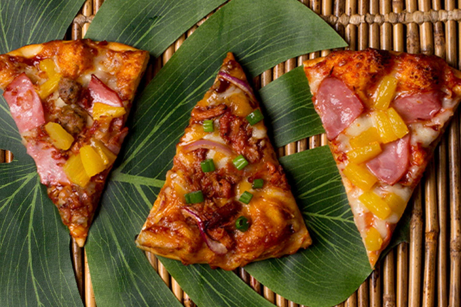 Shakey's Promotion Image - Tropical Trio of Pizzas