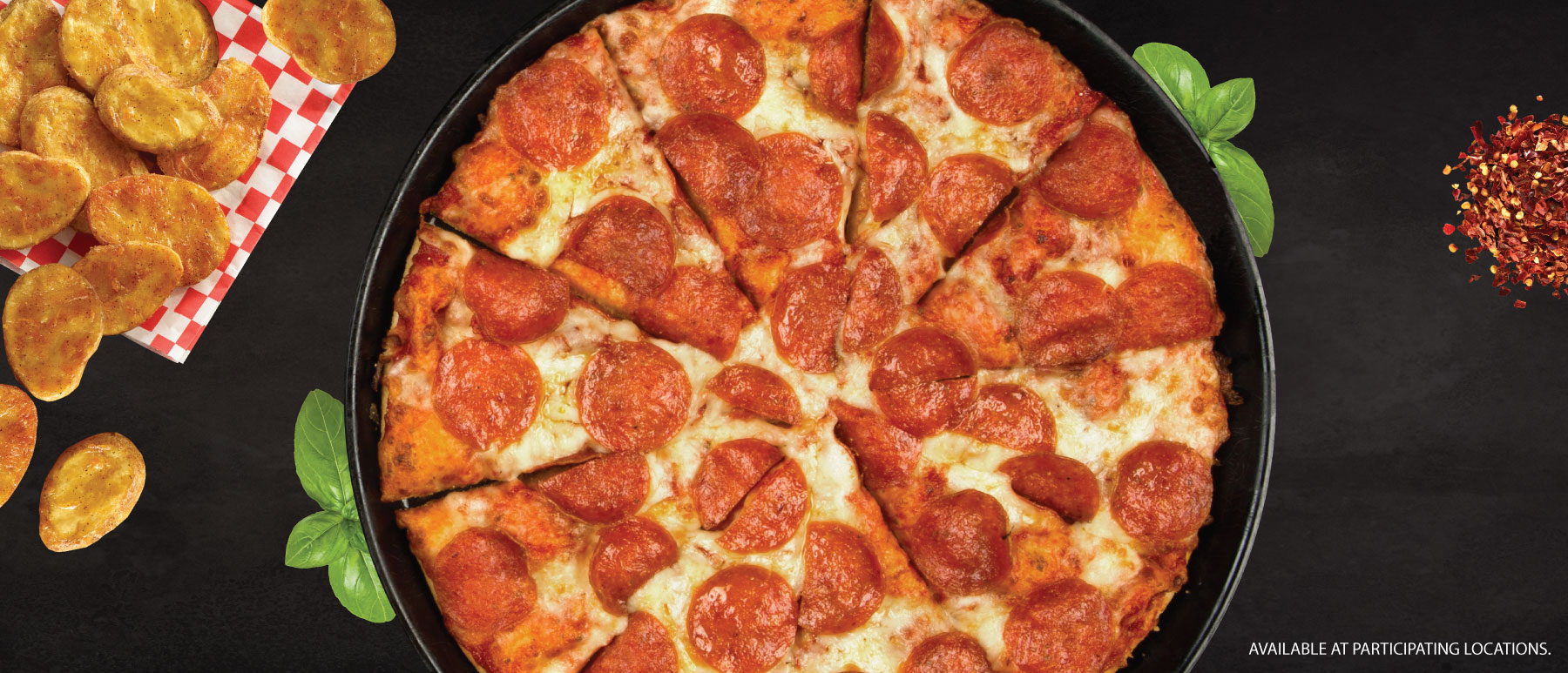 Shakey's Hero Image - Pizza + Mojos for Two $16.99