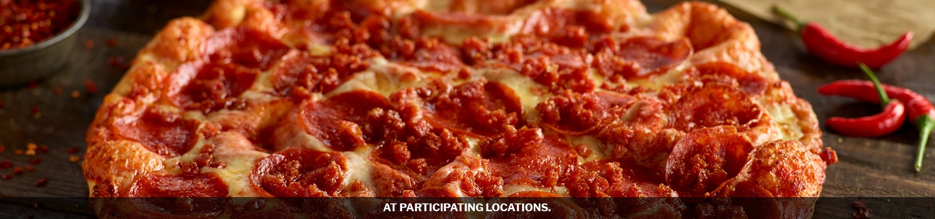Shakeys Spicy Pepperoni $9.99