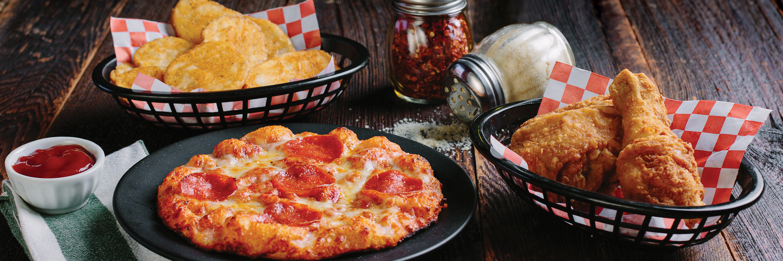 Shakey's Hero Image - PCM Lunchbox To-Go $8.99