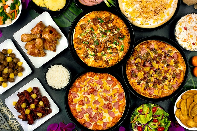 Shakeys Get into the Aloha spirit for around $10.
