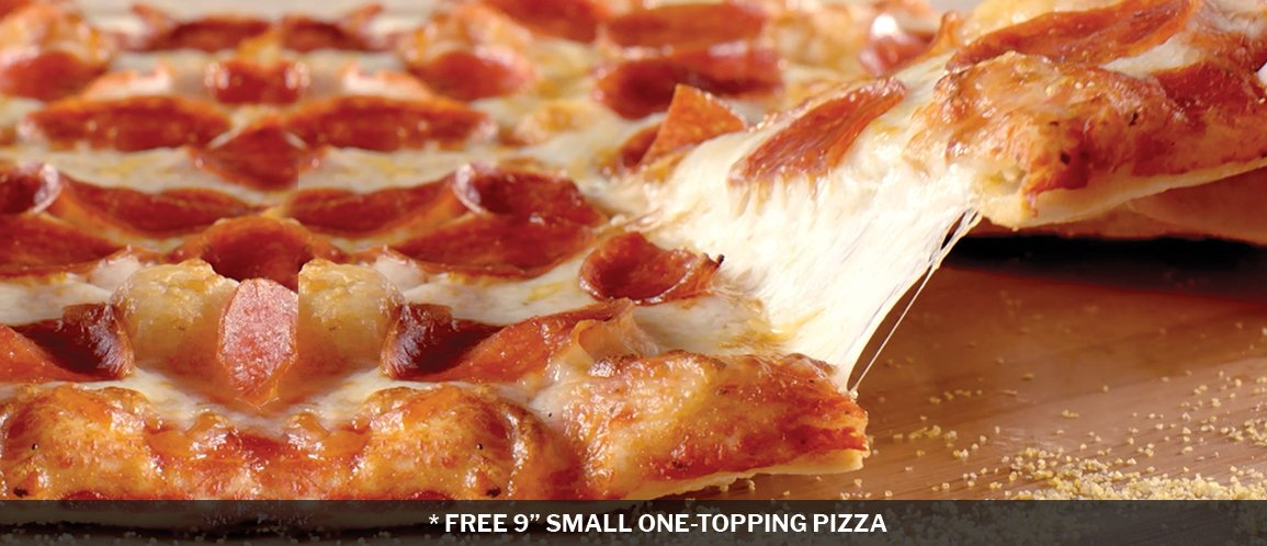 "Shakeys Free 9"" Small Pizza"
